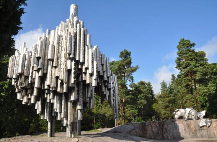 Jean Sibelius in Sibelius Park