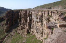 Afghan mountain landscape
