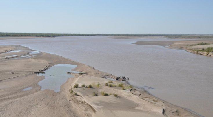 Amu-Darja River near Khiva, Uzbekistan