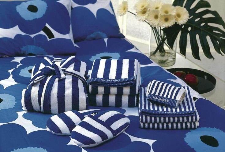 Marimekko's designers are keen on textiles to signal a happy and relaxed lifestyle.