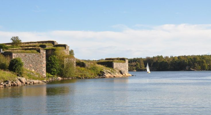Part of the fortress Suomenlinna (Sveaborg).