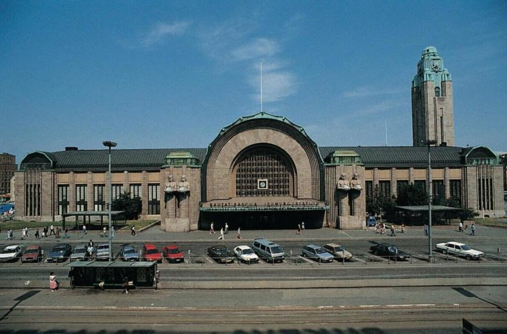 The Helsinki Railway Station