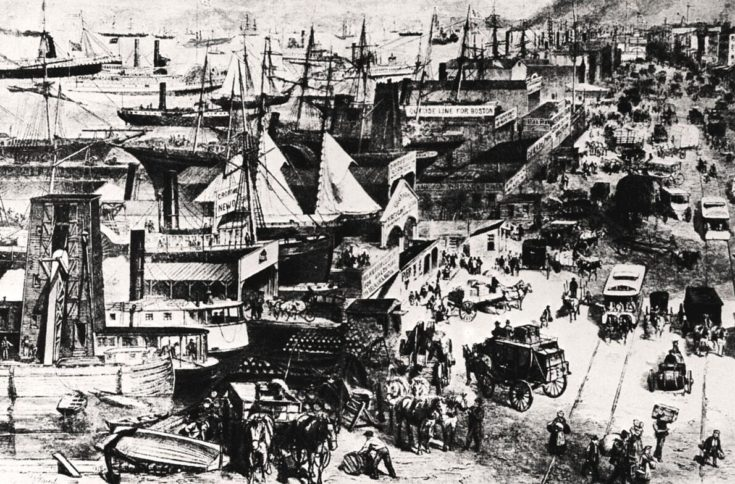 The great European emigration to North America