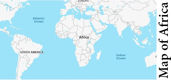 Map of Africa 2