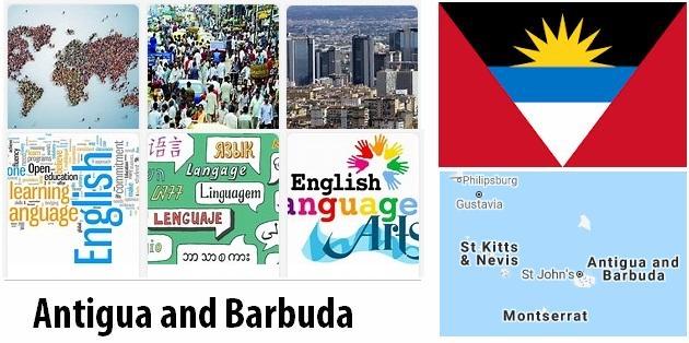 Antigua and Barbuda Population and Language