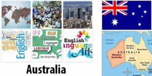 Australia Population and Language