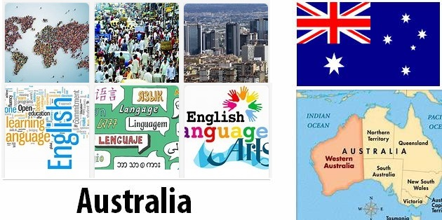 Australia Population and Language