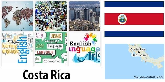 Costa Rica Population and Language
