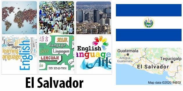 El Salvador Population and Language
