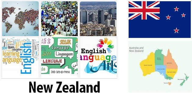 New Zealand Population and Language