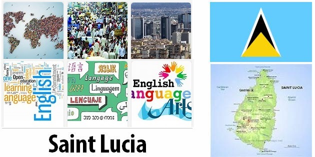 St Lucia Population and Language