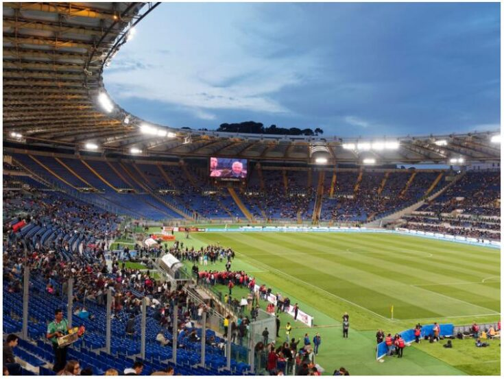Football trip to Rome