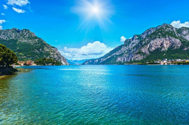 Lakes in Italy