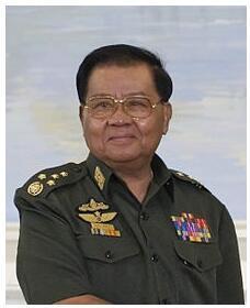Myanmar Senior General Than Shwe
