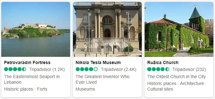 Serbia Top Sights
