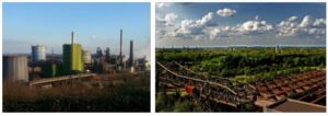 Industrial Area of the Ruhr Area
