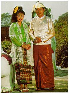 Myanmar Bama couple