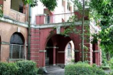 The Bago Hall on the grounds of Yangon University