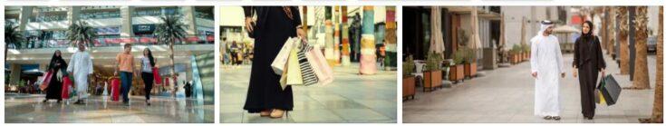 Shopping in United Arab Emirates