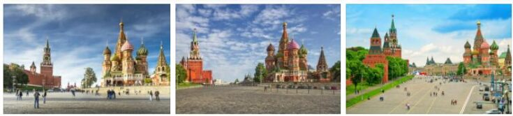 Kremlin and Red Square in Moscow